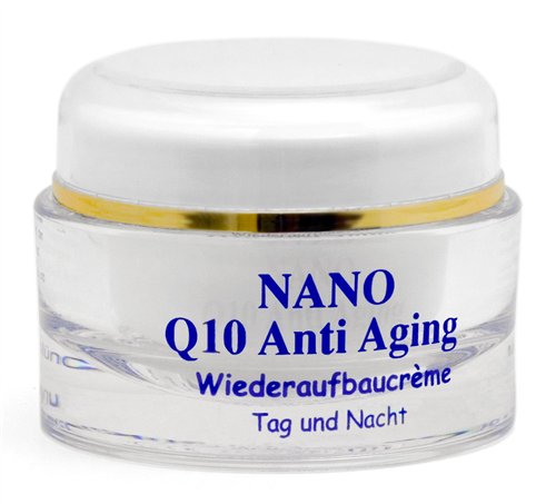 nano q10 anti aging creme 50ml. Black Bedroom Furniture Sets. Home Design Ideas