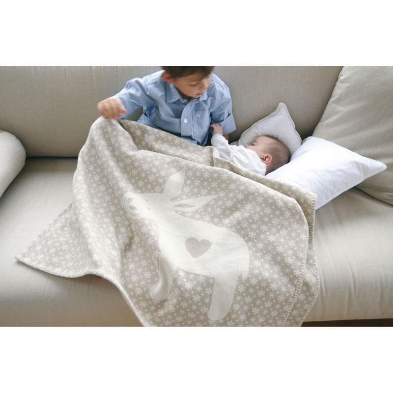 david fussenegger lena bw kinderdecke 100 kba 100x150 cm. Black Bedroom Furniture Sets. Home Design Ideas